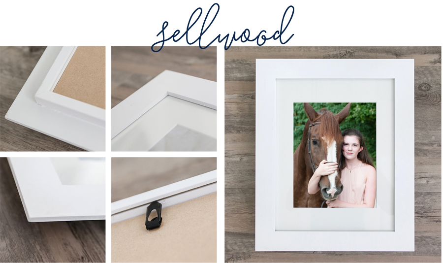 Sarah Pratt Photography offers a full line of signature frames perfect for all your portrait needs.
