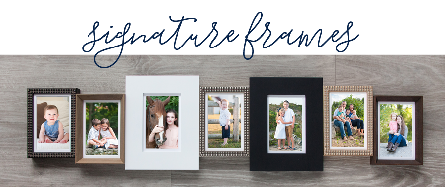 Sarah Pratt Photography now offers a gorgeous line of signature frames.
