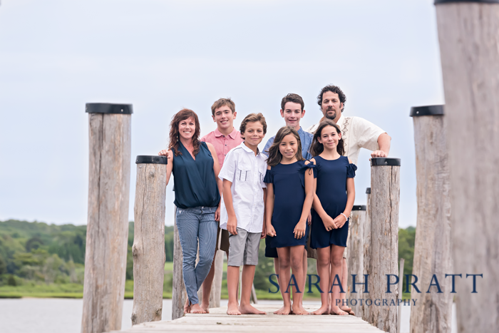 Westport harbor family portrait
