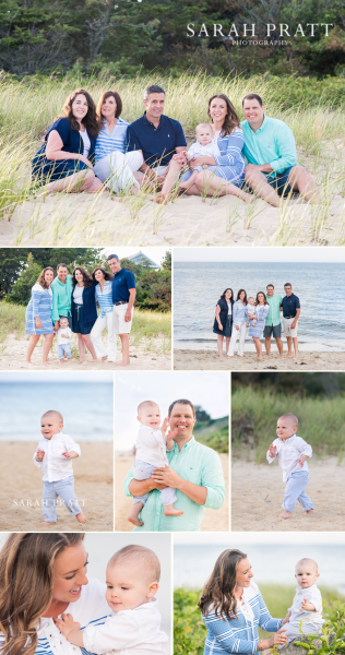 Popponesset family beach photography