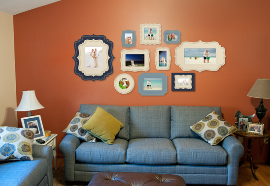 designed wall gallery