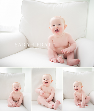 6 month old style photography
