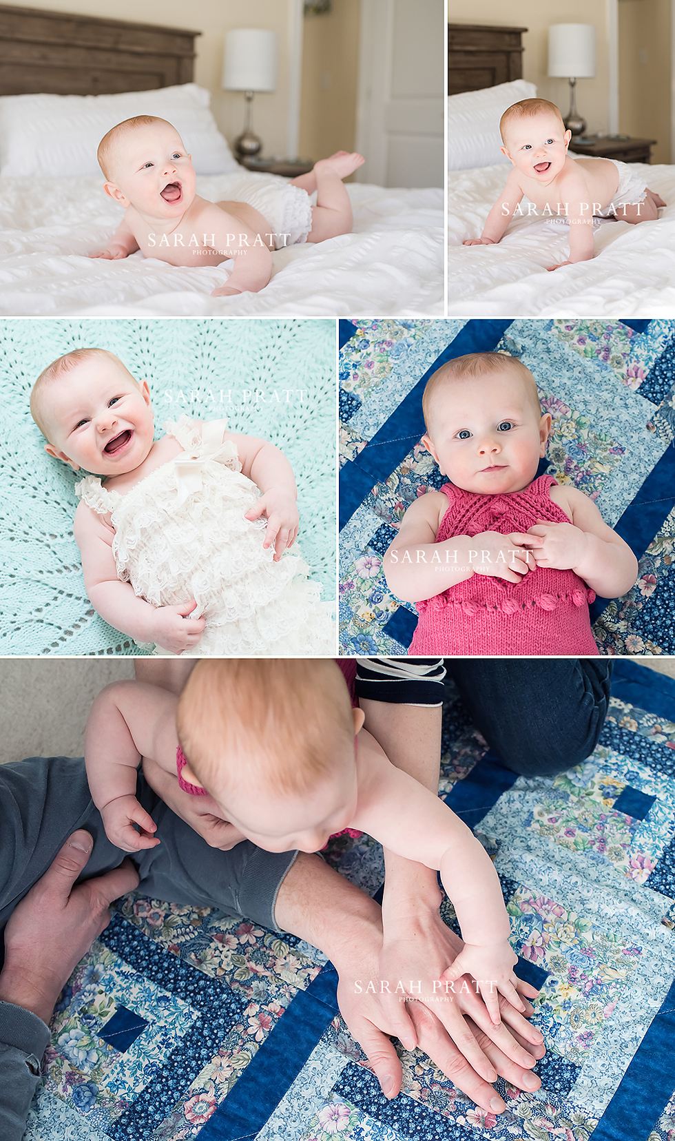 6 month baby lifestyle photography session