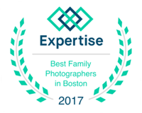 Ranked Best Family Photographer in Boston by Expertise.com in 2017